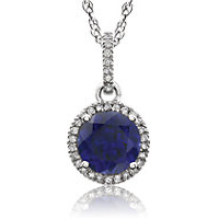 14kt Birthstone Necklaces